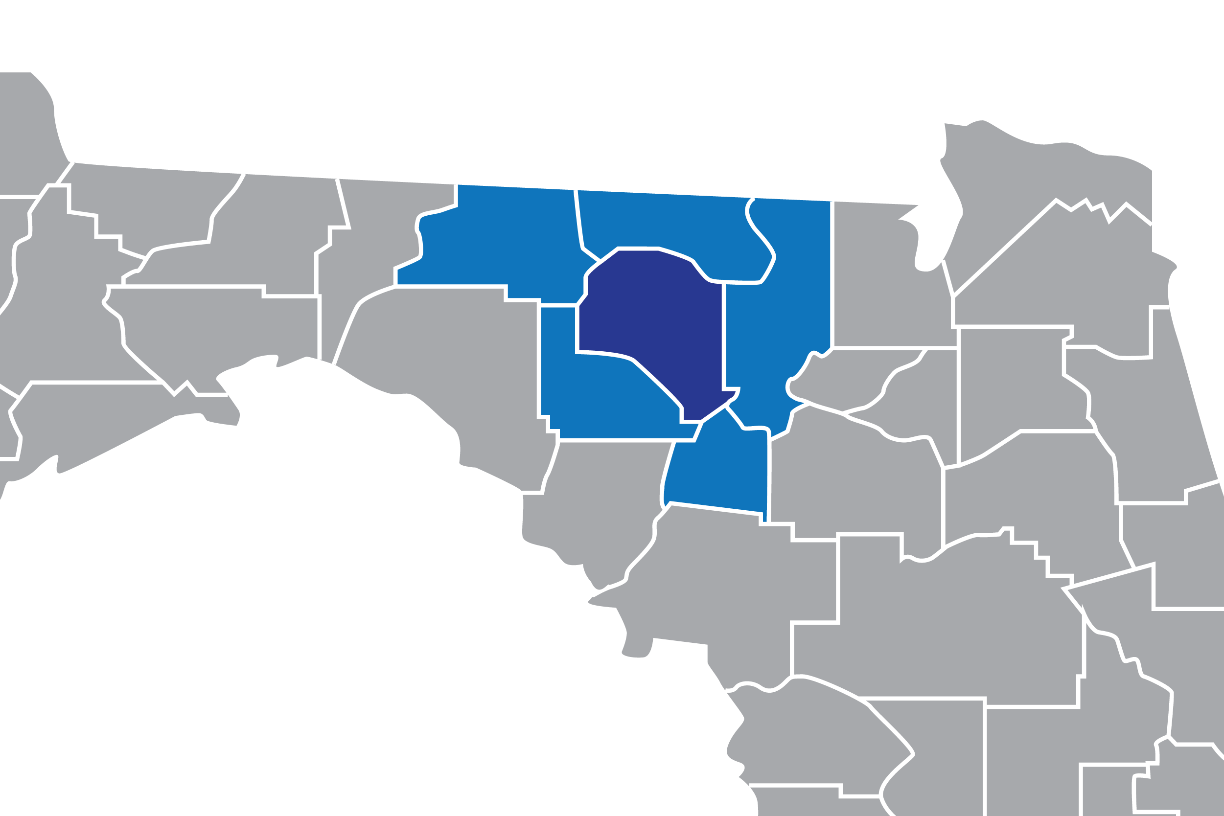Service Map by County